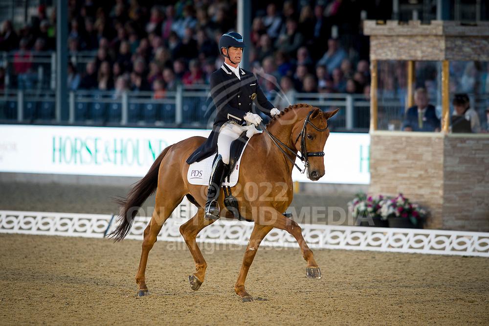Carl Hester (GBR) & Barolo - CDI4* Grand Prix Freestyle  Dressage - Royal Windsor Horse Show - Home Park, Windsor, United Kingdom - 12 May 2017