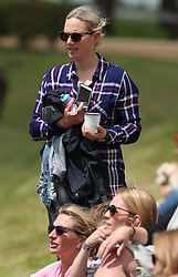 Zara Tindall, as attends the Maserati Royal Charity Polo Trophy at Beauford Polo Club, Down Farm House, Westonbirt, Gloucestershire.<br />