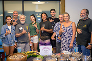 KALO/Taro<br /> Curators: Dean Wilhelm, Hoʻokuaʻāina; Paul and Charlie Reppun; Solange Saxby, UH CTAHR<br /> Taro farmers will present Moi kea (as well as other varieties of taro) grown in different locations in different styles of production.<br /> Like many varieties of kalo, Moi kea is and was consumed often in the form of poi. Sour poi - that is poi left to ferment spontaneously with associated microorganisms - gives poi different flavors and health benefits. Sour poi of different ages will be available for tasting and research of the microbiology and health implications presented.<br /> Moi kea is a hardy and productive taro variety, which is gaining popularity among taro farmers in Koʻolaupoko. It produces poi that is light in color - a brownish-white - and exhibits a super sweet taste when fresh. The variety has been cultivated by Chris Kobayashi and her partner Demi on Kauai, who shared the huli with Dean Willhelm of Kapalai Farm (Hoʻokuaʻāina), who has in turn gifted it to other taro farmers on Oʻahu. Growers are embracing Moi kea taro due to its general vigor and relative tolerance of Taro leaf blight (Phytophthora colocasiae), a disease that proliferates in warm, humid and still conditions.