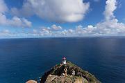 Lighthouse, Makapuu, Oahu, Hawaii