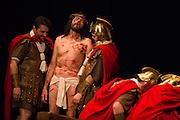 Roman troops make fun of Jesus