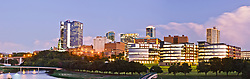 Downtown Fort Worth  Texas, USA.
