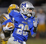 Avon battled Midview in a WSC varsity football contest at Midview High School on October 21, 2011.
