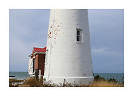 A very pleasant afternoon at the Crisp Point Lighthouse on Lake Superior, Upper Peninsula, Michigan, USA - a one hour drive from Tahquamenon Falls, mostly dirt roads