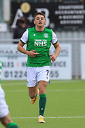 Kyle Magennis (7) of Hibernian during the Betfred Scottish League Cup match between Cove Rangers and Hibernian at Balmoral Stadium, Aberdeen, Scotland on 10 October 2020.
