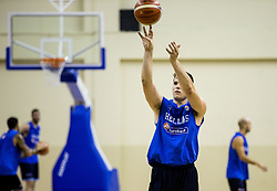 Dimitrios Agravanis of Greece  during practice session of Greek National team 1 day prior to the basketball match between National Teams of Lithuania and Greece in Round of 16 of the FIBA EuroBasket 2017, at Ahmet Cömert Sports Hall in Istanbul, Turkey on September 8, 2017. Photo by Vid Ponikvar / Sportida