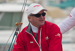 Peter Gilmour with his Team YANMAR Racing  in  Marseille,France 7 April 2010 Photo: Brendon O'Hagan/Subzero images