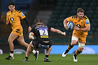 Rugby Union - 2019 / 2020 Gallagher Premiership - Final - Wasps vs Exeter Chiefs - Twickenham<br /> <br /> Wasps' Thomas Young in action during this afternoon's game.<br /> <br /> COLORSPORT/ASHLEY WESTERN
