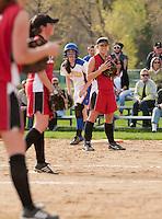 Gilford varsity softball versus Berlin May 9, 2011.