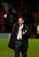 Photo: Leigh Quinnell.<br /> AFC Bournemouth v Bristol City. Coca Cola League 1. 26/09/2006. Thumbs up for the win from Bristol City manager Gary Johnson.