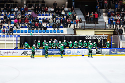 HK SZ Olimpia celebrating during the match between HDD Jesenice vs HK SZ Olimpia at 16th International Summer Hockey League Bled 2019 on 24th August 2019. Photo by Peter Podobnik / Sportida