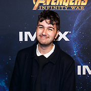NLD/Amsterdam/20180425 - Première The Avengers: Infinity War, Veras Fawaz