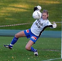 Fotball kvinner Toppserien 08.10.05<br /> Trondheims-Ørn - Fløya 4-0<br /> Ingrid Hjelmseth, Trondheims-Ørn<br /> Foto: Carl-Erik Eriksson, Digitalsport