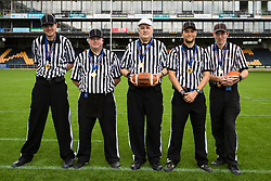 2016 Britbowl, referees - Mandatory by-line: Jason Brown/JMP - 27/08/2016 - AMERICAN FOOTBALL - Sixways Stadium - Worcester, England - Kent Exiles v East Kilbride Pirates - BAFA Britbowl Finals Day