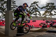 #33 (DAUDET Joris) FRA at the 2018 UCI BMX Superscross World Cup in Saint-Quentin-En-Yvelines, France.