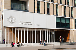 Modern Informatics Forum building at University of Edinburgh in Scotland, United Kingdom