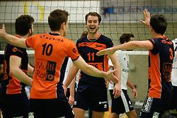 20170125 NED: Beker, Sliedrecht Sport - Seesing Personeel Orion: Sliedrecht<br />Tom Buijs (11) of Seesing Personeel - Orion<br />©2017-FotoHoogendoorn.nl / Pim Waslander