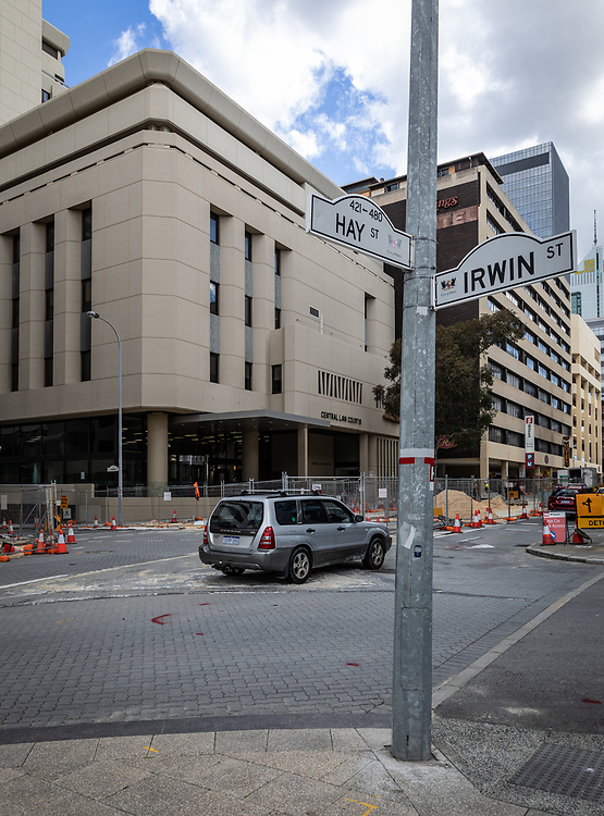The Central Law Courts,Perth,Western Australia Thursday August 20,2020.