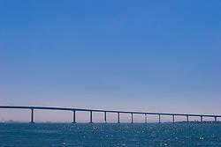 San Diego-Coronado Bridge, San Diego, California, USA, Pacific Ocean