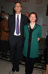 MARK JONES director of the V&A and REGI MEREDITH-CARPENI of The Bank of New York sponsors of the exhibition at the opening of a new exhibition 'Diane Arbus Revelations' a major retospective of the Legendary New York Photographer at the V&A museum on 11th October 2005.<br /><br />NON EXCLUSIVE - WORLD RIGHTS