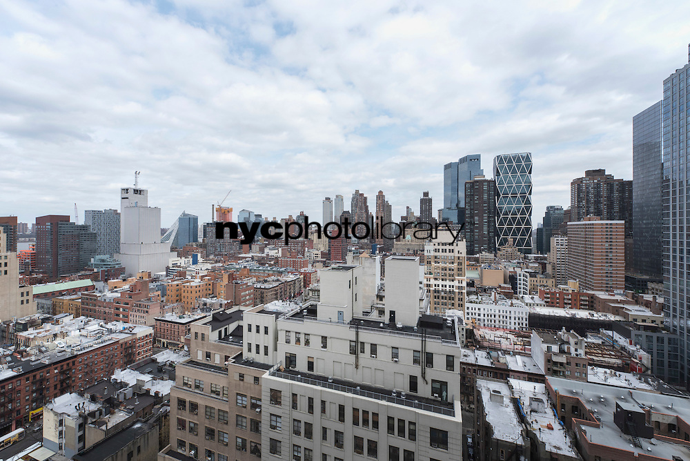 View from 350 West 50th Street