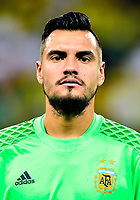 Conmebol - World Cup Fifa Russia 2018 Qualifier / <br /> Argentina National Team - Preview Set - <br /> Sergio German Romero