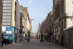 Rose Street today. Edinburgh on the day after the Lockdown.