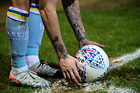 Tattoos on the arms of Leeds United's Kalvin Phillips<br /> <br /> Photographer Alex Dodd/CameraSport<br /> <br /> The EFL Sky Bet Championship - 191123 Luton Town v Leeds United - Saturday 23rd November 2019 - Kenilworth Road - Luton<br /> <br /> World Copyright © 2019 CameraSport. All rights reserved. 43 Linden Ave. Countesthorpe. Leicester. England. LE8 5PG - Tel: +44 (0) 116 277 4147 - admin@camerasport.com - www.camerasport.com