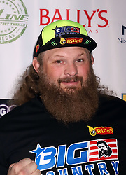 "Roy Nelson arriving for the One Step Closer ""All In For CP"" celebrity charity poker event held at Ballys Poker Room, Ballys Hotel & Casino, Las Vegas, December 9, 2018"