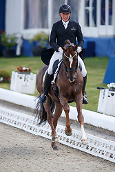 FINKEN Holga (GER), Sir Picardi<br /> Hagen - Horses and Dreams meets the Royal Kingdom of Jordan 2018<br /> Einlaufprüfung Nürnberger Burg Pokal<br /> 26 April 2018<br /> www.sportfotos-lafrentz.de/Stefan Lafrentz