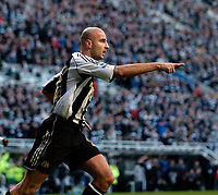 Photo: Jed Wee.<br /> Newcastle United v Portsmouth. The Barclays Premiership. 26/11/2006.<br /> <br /> Newcastle's Antoine Sibierski celebrates after scoring.
