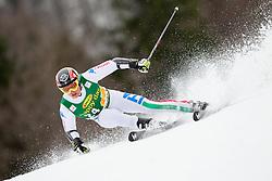 EISATH Florian of Italy during the 2nd Run of 7th Men's Giant Slalom - Pokal Vitranc 2013 of FIS Alpine Ski World Cup 2012/2013, on March 9, 2013 in Vitranc, Kranjska Gora, Slovenia. (Photo By Vid Ponikvar / Sportida.com)