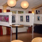 NLD/Huizen/20060902 - Kunsttentoonstelling bij tennisvereniging de Kuil Huizen