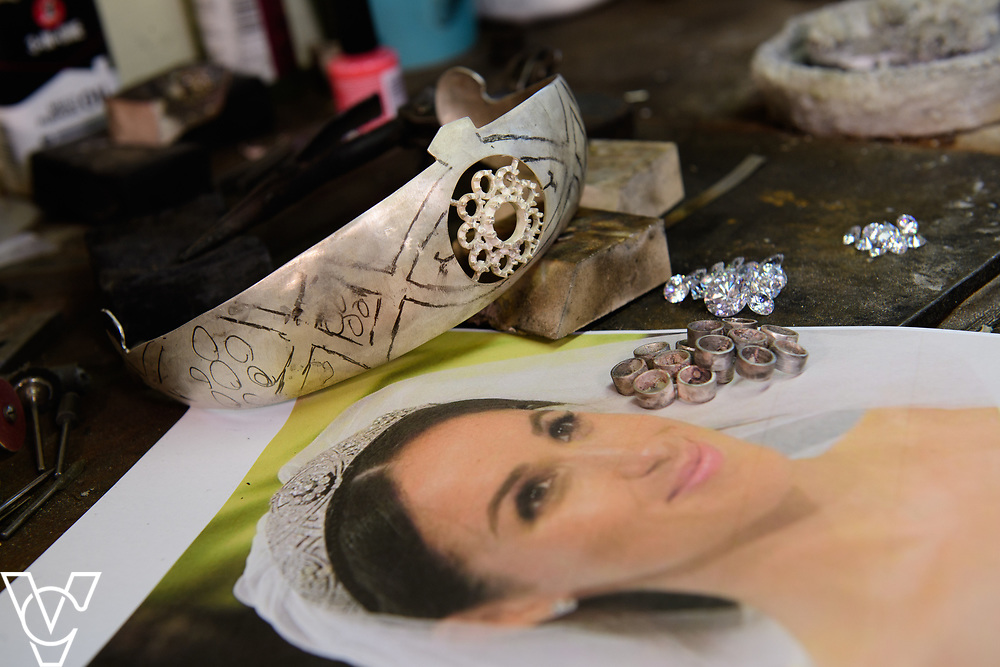 COUNTY NEWS: James Usher Jewlers, in Lincoln, are hand-making a replica of the tiara worn by Meghan Markle during her recent wedding to Prince Harry.<br /> <br /> Picture: Chris Vaughan Photography<br /> Date: June 28, 2018