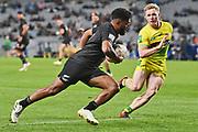Vilimoni Koroi.<br /> All Blacks Sevens v Australia, Trans-Tasman Sevens. Eden Park, Auckland. New Zealand. Saturday 22 May 2021. © Copyright Photo: Andrew Cornaga / www.photosport.nz