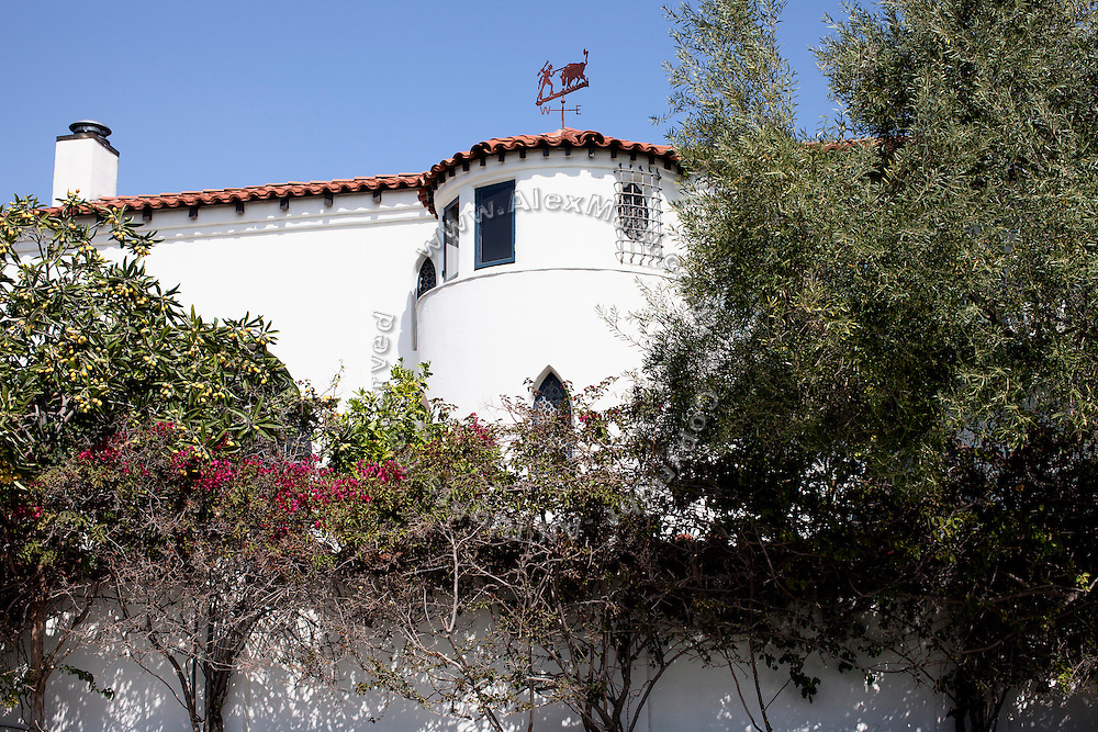 """The house of Rachel Bilson, (actress, """"The O.C."""") in Los Angeles, was robbed in April / May 2009 between 3 to 6 times by the Bling Ring. (NOT FOR PUBLICATION: 4527 Gainsborough Ave, CA 90027, USA)"""