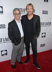 Steven Okin and David A. R. White at Death Of A Nation Los Angeles Premiere held at Regal L.A. Live: A Barco Innovation Center on July 31, 2018 in Los Angeles, California, United States (Photo by Jc Olivera for Jade Umbrella)