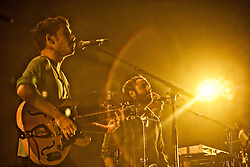 The Local Natives perform at The Bill Graham Civic Auditorium - 12/03/11