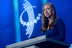 Chelsea Clinton at The Business And Political Leaders Attend Clinton Global Initiative Annual Meeting in New York, September 19th 2016.