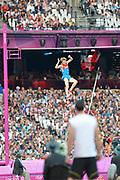 Olympic Stadium, Stratford, London, United Kingdom<br /> <br /> Description:<br /> <br /> 2012 London Olympic, Athletics, <br /> . <br /> <br /> 19:52:38  Friday  10/08/2012 [Mandatory Credit: Peter Spurrier/Intersport Images]