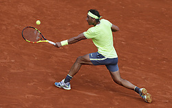FRANCE-PARIS-TENNIS-ROLAND GARROS-DAY 4.(190529) -- PARIS, May 29, 2019  Rafael Nadal of Spain competes during the men's singles second round match with Yannick Maden of Germany at French Open tennis tournament 2019 at Roland Garros, in Paris, France on May 29, 2019. (Credit Image: © Xinhua via ZUMA Wire)