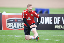CARDIFF, WALES - Saturday, June 4, 2016: Wales' Simon Church during a training session at the Vale Resort Hotel ahead of the International Friendly match against Sweden. (Pic by David Rawcliffe/Propaganda)