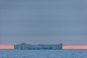 """Iceberg north of Spitsbergen at 82°32'46"""" N 16°53'34"""" E 