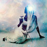 Dark priestess in the light.