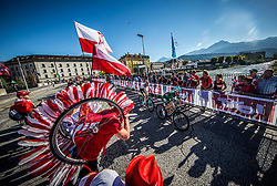 DUNBAR Edward of Ireland during the Men Under 23 Road Race 179.9km Race from Kufstein to Innsbruck 582m at the 91st UCI Road World Championships 2018 / RR / RWC / on September 28, 2018 in Innsbruck, Austria.  Photo by Vid Ponikvar / Sportida