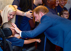 The Duke and Duchess of Sussex attend the annual WellChild Awards at The Royal Lancaster Hotel, London, UK, on the 4th September 2018. Picture by Victoria Jones/WPA-Pool. 04 Sep 2018 Pictured: Prince Harry, Duke of Sussex. Photo credit: MEGA TheMegaAgency.com +1 888 505 6342