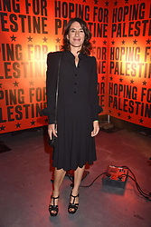 """Esther Freud at """"Hoping For Palestine"""" Benefit Concert For Palestinian Refugee Children held at The Roundhouse, Chalk Farm Road, England. 04 June 2018."""