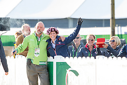 Pedro Cebulka, (CAN), Charlotte Dujardin, (GBR),  - Horse Inspection Dressage - Alltech FEI World Equestrian Games™ 2014 - Normandy, France.<br /> © Hippo Foto Team - Leanjo de Koster<br /> 25/06/14