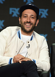 BEVERLY HILLS - AUGUST 9: Cast member Desmin Borges onstage during the panel for 'You're the Worst' at the FX portion of the 2017 Summer TCA press tour at the Beverly Hilton on August 9, 2017 in Beverly Hills, California. (Photo by Frank Micelotta/FX/PictureGroup) *** Please Use Credit from Credit Field ***