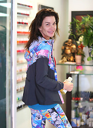 Janice Dickinson is seen out and about in Los Angeles, USA.
